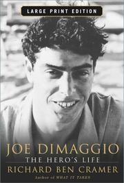 Cover of: Joe Dimaggio Lp  | Richard Ben Cramer