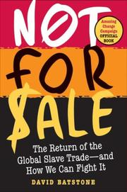 Cover of: Not for Sale | David Batstone