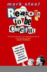 Cover of: Reasons to Be Cheerful