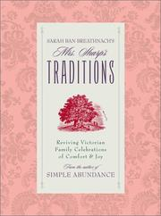 Cover of: Sarah Ban Breathnach's Mrs. Sharp's Traditions