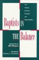 Cover of: Baptists in the balance |