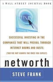 Cover of: Networth