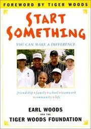 Cover of: Start something: you can make a difference