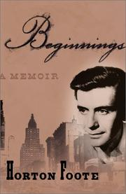 Cover of: Beginnings