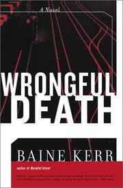Cover of: Wrongful death