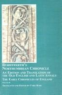 Byrhtferth's Northumbrian Chronicle by Byrhtferth, C. R. Hart