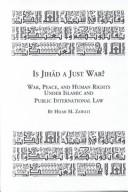 Cover of: Is Jihad a Just War? | Hilmi Zawati