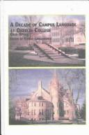 Cover of: A Decade of Campus Language at Oberlin College