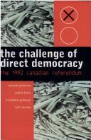 Cover of: The Challenge of Direct Democracy | Andre Blais