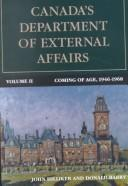 Cover of: Canada's Department of External Affairs