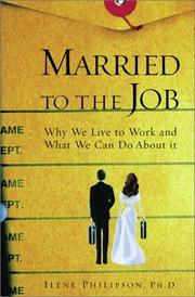 Cover of: Married to the Job