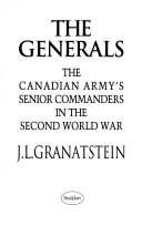 Cover of: The generals