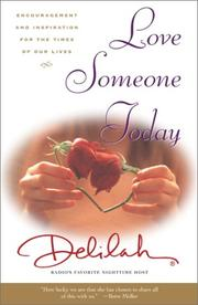 Cover of: Love Someone Today