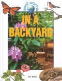 Cover of: In a Backyard (Small Worlds)