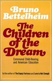 Cover of: The children of the dream