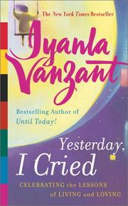 Cover of: Yesterday, I Cried  | Iyanla Vanzant