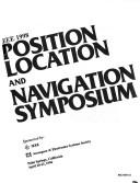 Cover of: IEEE 1998 Position Location and Navigation Symposium |