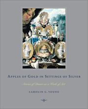 Cover of: Apples of Gold in Settings of Silver