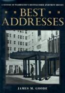 Cover of: Best Addresses | James Goode