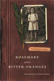 Cover of: Rosemary and Bitter Oranges: Growing Up in a Tuscan Kitchen