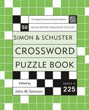 Cover of: Simon and Schuster Crossword Puzzle Book #225  |