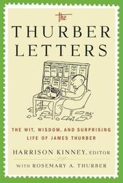 Cover of: The Thurber Letters