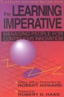Cover of: The Learning Imperative | Robert Howard