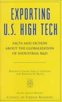 Cover of: Exporting U.S. High Tech | Benedicte Callan