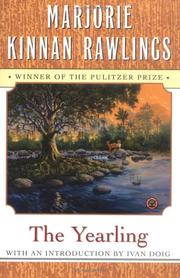 Cover of: The Yearling | Marjorie Kinnan Rawlings