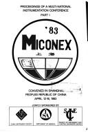 Cover of: Miconex