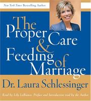 Cover of: The Proper Care and Feeding of Marriage CD
