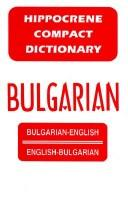 Cover of: Bulgarian-English/English Bulgarian Dictionary (Compact Dictionary Series) | Davidovic Mladen