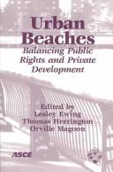 Cover of: Urban Beaches: Balancing Public Rights and Private Development  |