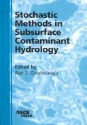 Cover of: Stochastic Methods in Subsurface Contaminant Hydrology | R. S. Govindaraju