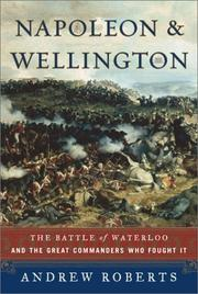 Cover of: Napoleon and Wellington