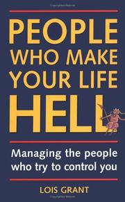 Cover of: People Who Make Your Life Hell