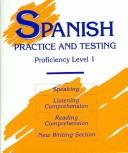 Cover of: Spanish Practice and Testing
