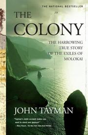Cover of: The Colony | John Tayman