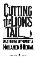 Cover of: Cutting the lion's tail