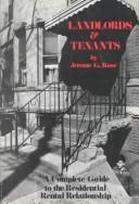 Cover of: Landlords and Tenants | George Sternlieb