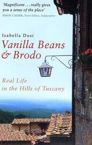 Cover of: Vanilla Beans and Brodo