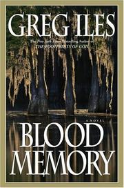 Cover of: Blood memory: A Novel