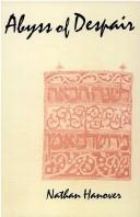 Cover of: The Abyss of Despair (Judaica Series (Transaction Books).)