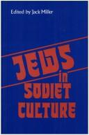 Cover of: Jews in Soviet Culture
