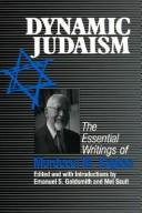 Cover of: Dynamic Judaism