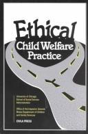 Cover of: Ethical Child Welfare Practice |