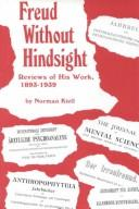 Cover of: Freud Without Hindsight