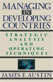Cover of: Managing in Developing Countries