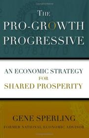 Cover of: The Pro-Growth Progressive