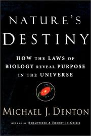 Cover of: Nature's Destiny